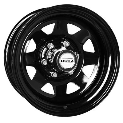 Disks Dotz Dakar Black, 16x70 ET13