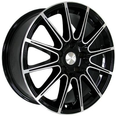 SKAD LeMans Black Polish, 16x70 ET41