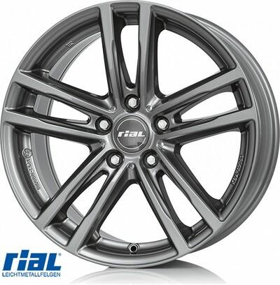 RIAL X10 GR 9,0X19, 5X120/37 (74,1) (GR) (BMW)  KG1000 EH2+